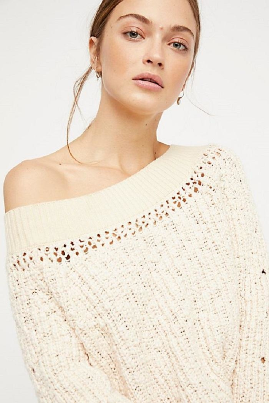 Free People Pandora's Boatneck Sweater - Side Cropped Image