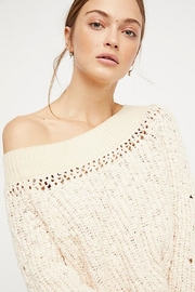 Free People Pandora's Boatneck Sweater - Side cropped