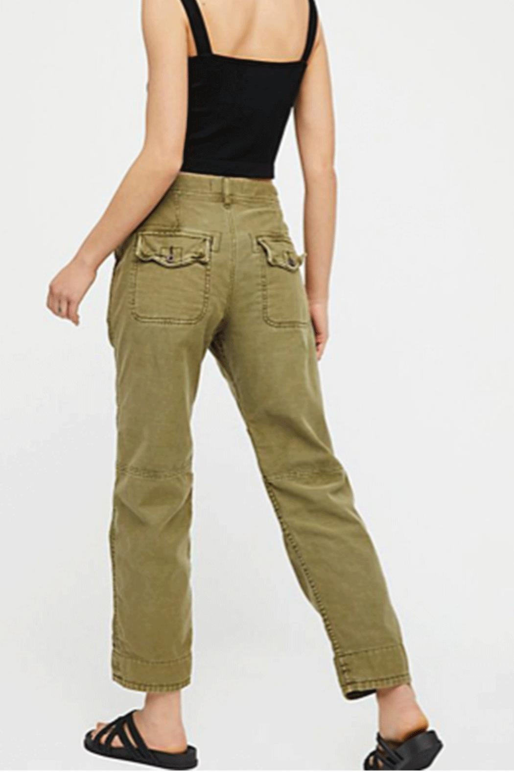 Free People Pant Utility Bf - Front Full Image