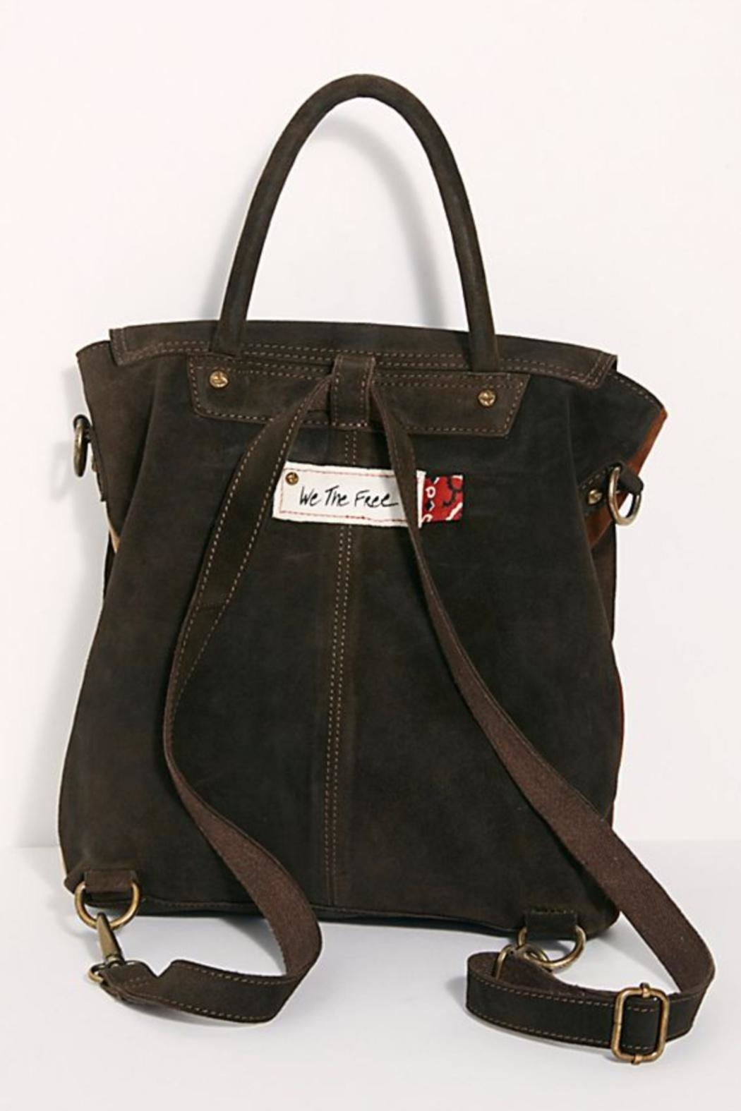 Free People Paris Convertible Backpack - Side Cropped Image
