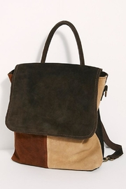 Free People Paris Convertible Backpack - Front full body