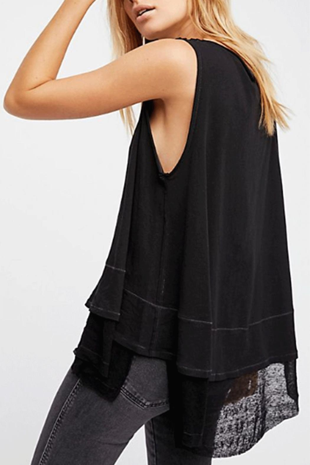 Free People Peachy Tee - Front Full Image