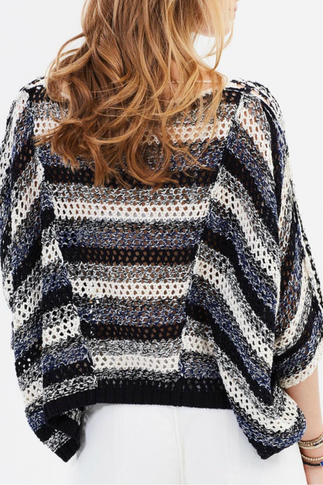 Free People Pearl Searching Sweater - Back Cropped Image
