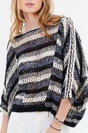 Free People Pearl Searching Sweater - Front full body