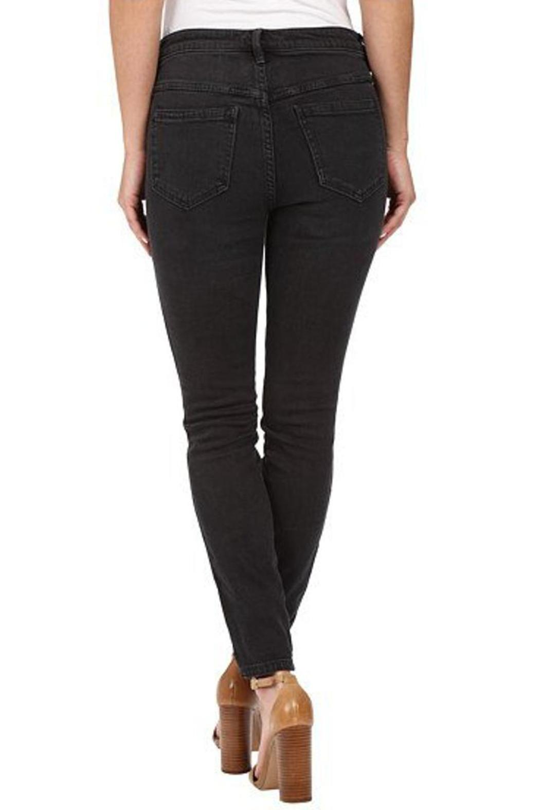 Free People Peyton High Rise Jeans - Back Cropped Image