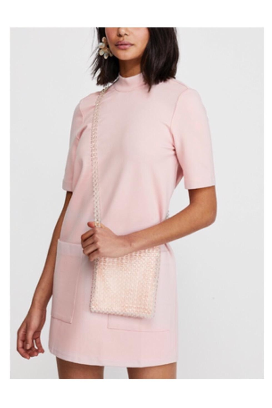 Free People Pink Comfy Dress - Main Image