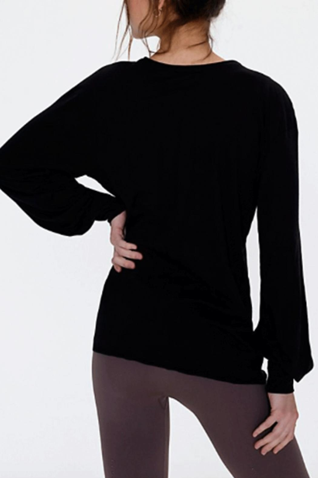 Free People Pivot Point L/s - Back Cropped Image