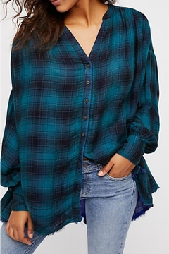 Free People Plaid Blouse - Product List Image