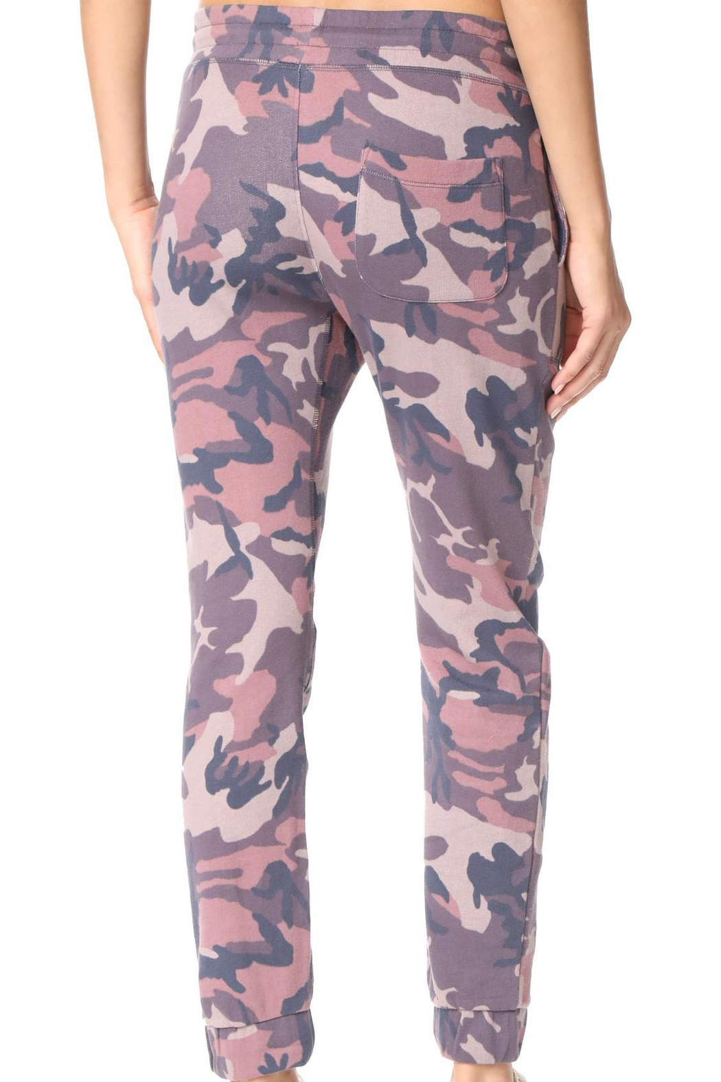 Free People Printed Camo Jogger - Back Cropped Image