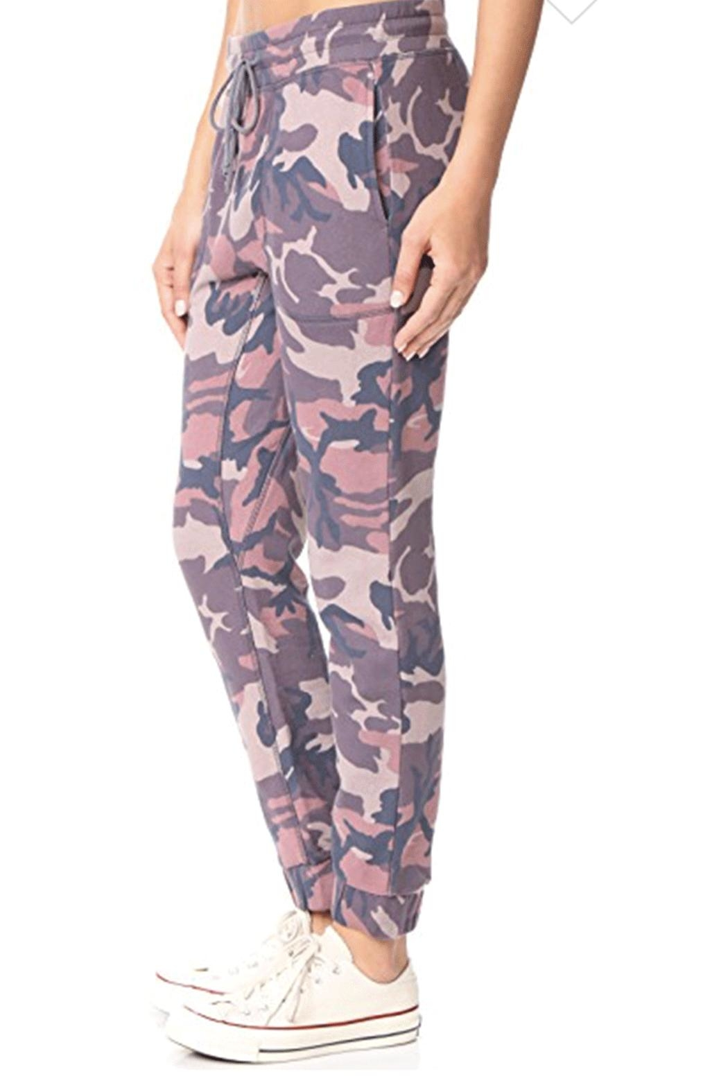 Free People Printed Camo-Scout Jogger - Front Full Image