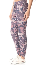Free People Printed Camo-Scout Jogger - Front full body