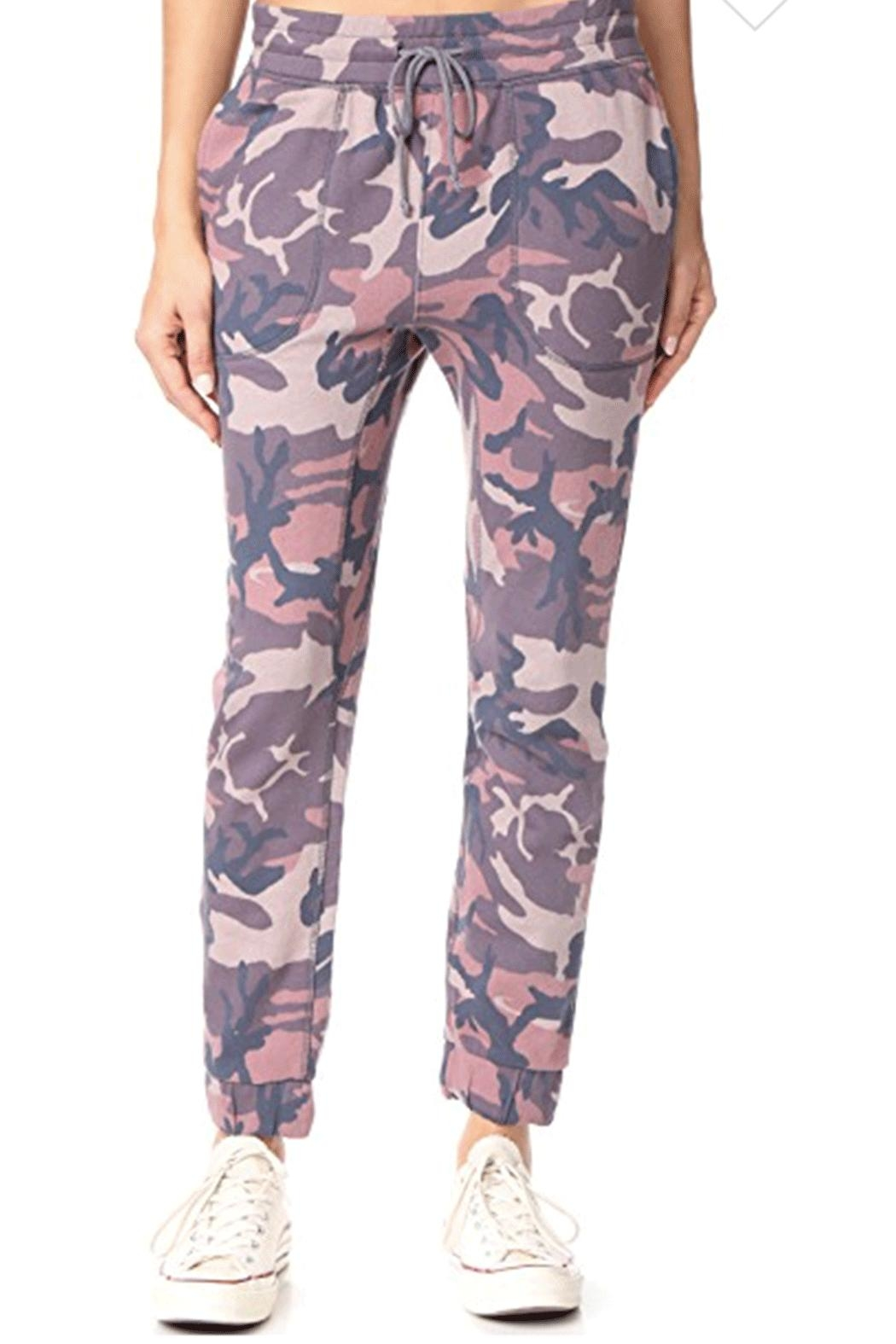 Free People Printed Camo-Scout Jogger - Main Image