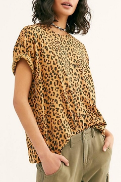 Free People Printed Clarity Tee - Product List Image