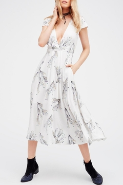 Shoptiques Product: Printed Retro Midi