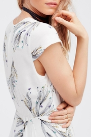 Free People Printed Retro Midi - Back cropped