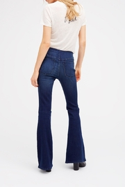 Free People Pull On Flare Jeans - Front full body