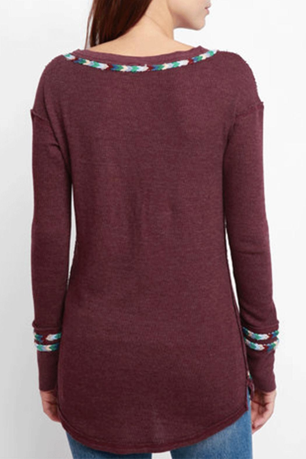Free People Rainbow Thermal - Side Cropped Image