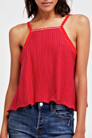 Free People Red Anna Tank - Product Mini Image