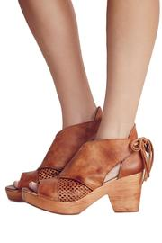 Free People Revolver Wood Bootie - Product Mini Image