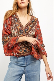 Free People Rosalie Wrap Top - Product Mini Image