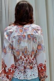 Free People Run Free Blouse - Front full body