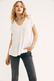 Free People Scoop Neck Tee - Front cropped