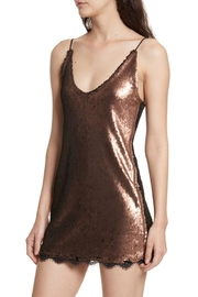Free People Seeing Double Sequin - Back cropped