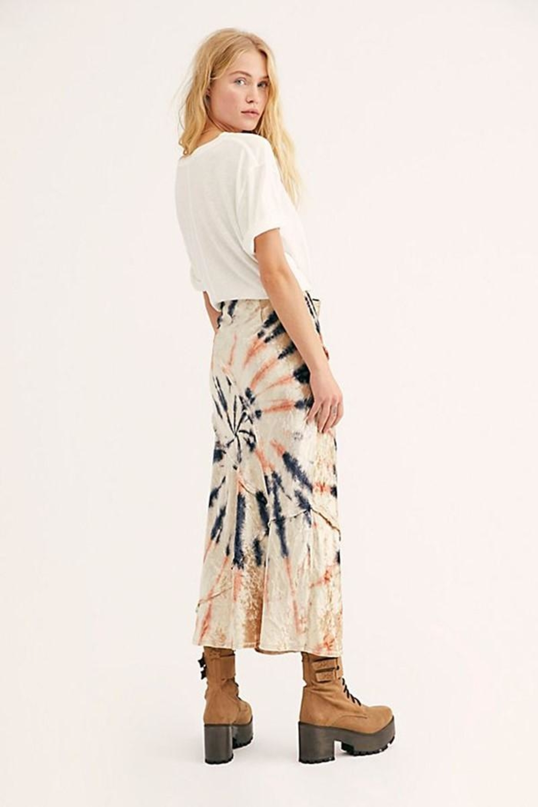 Free People Serious Swagger Skirt - Front Full Image