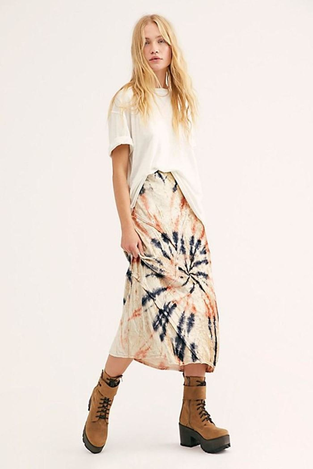 Free People Serious Swagger Skirt - Front Cropped Image