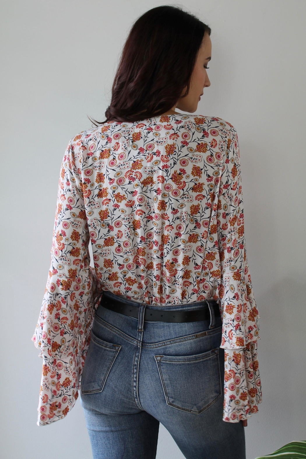 Free People She's Dainty Bodysuit - Front Full Image