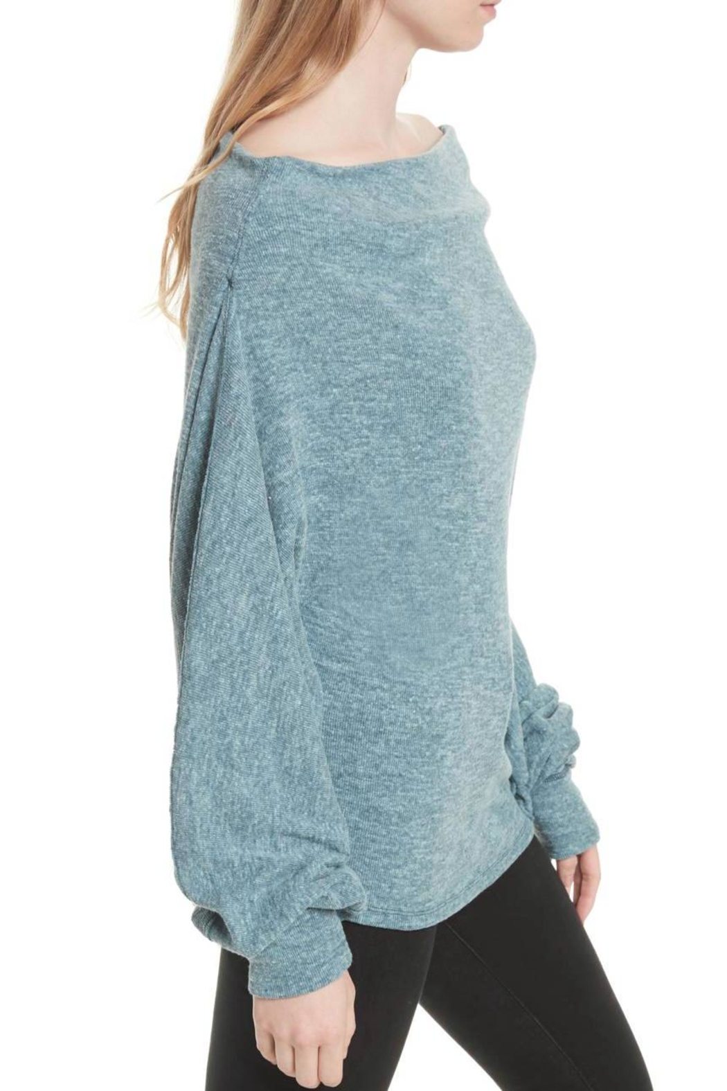 Free People Skyline Thermal Top - Side Cropped Image