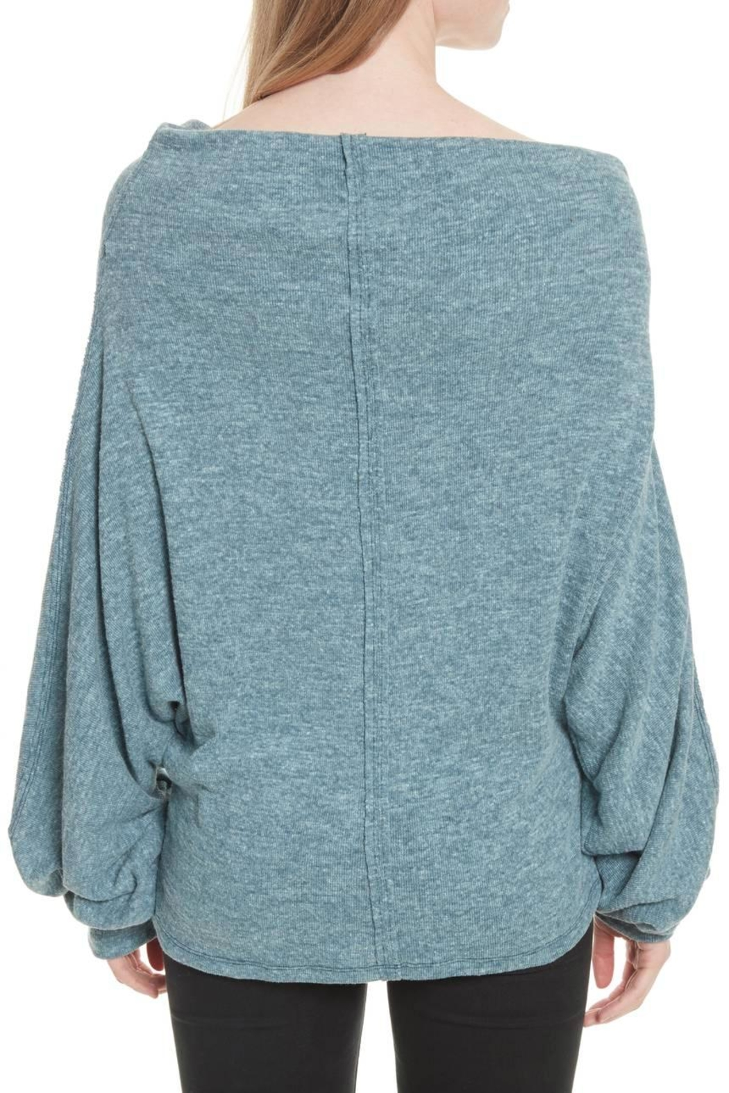 Free People Skyline Thermal Top - Back Cropped Image