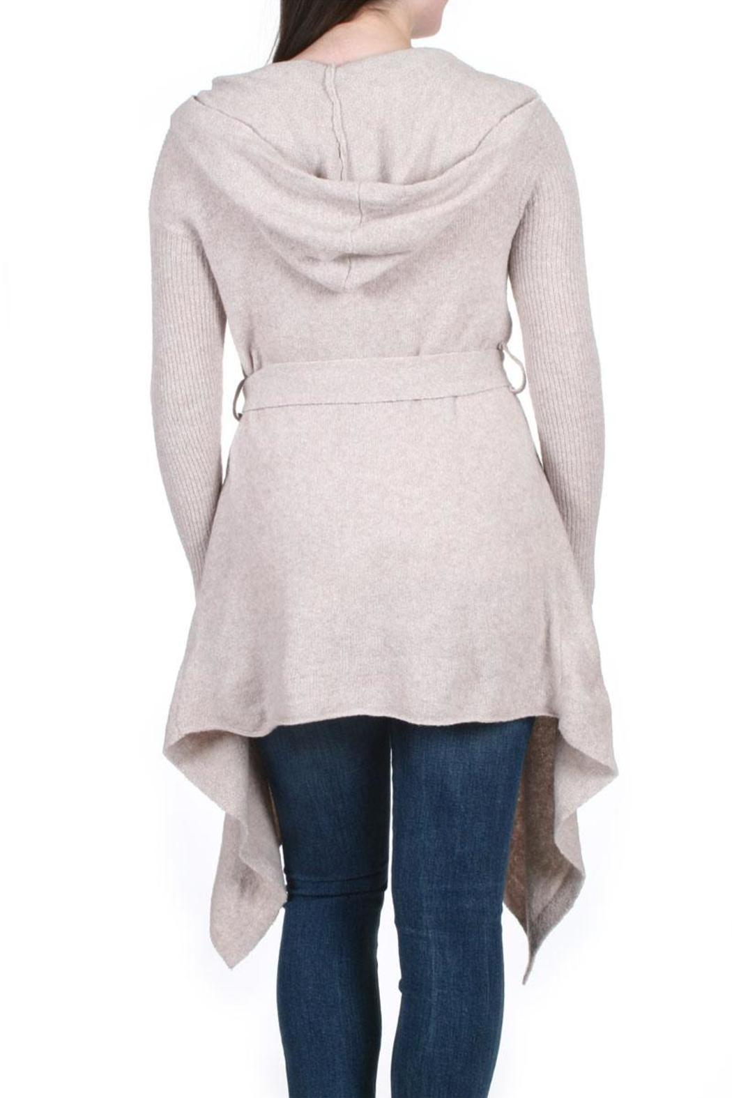 Free People Sloane Hooded Cardigan from California by M.FREDRIC ...