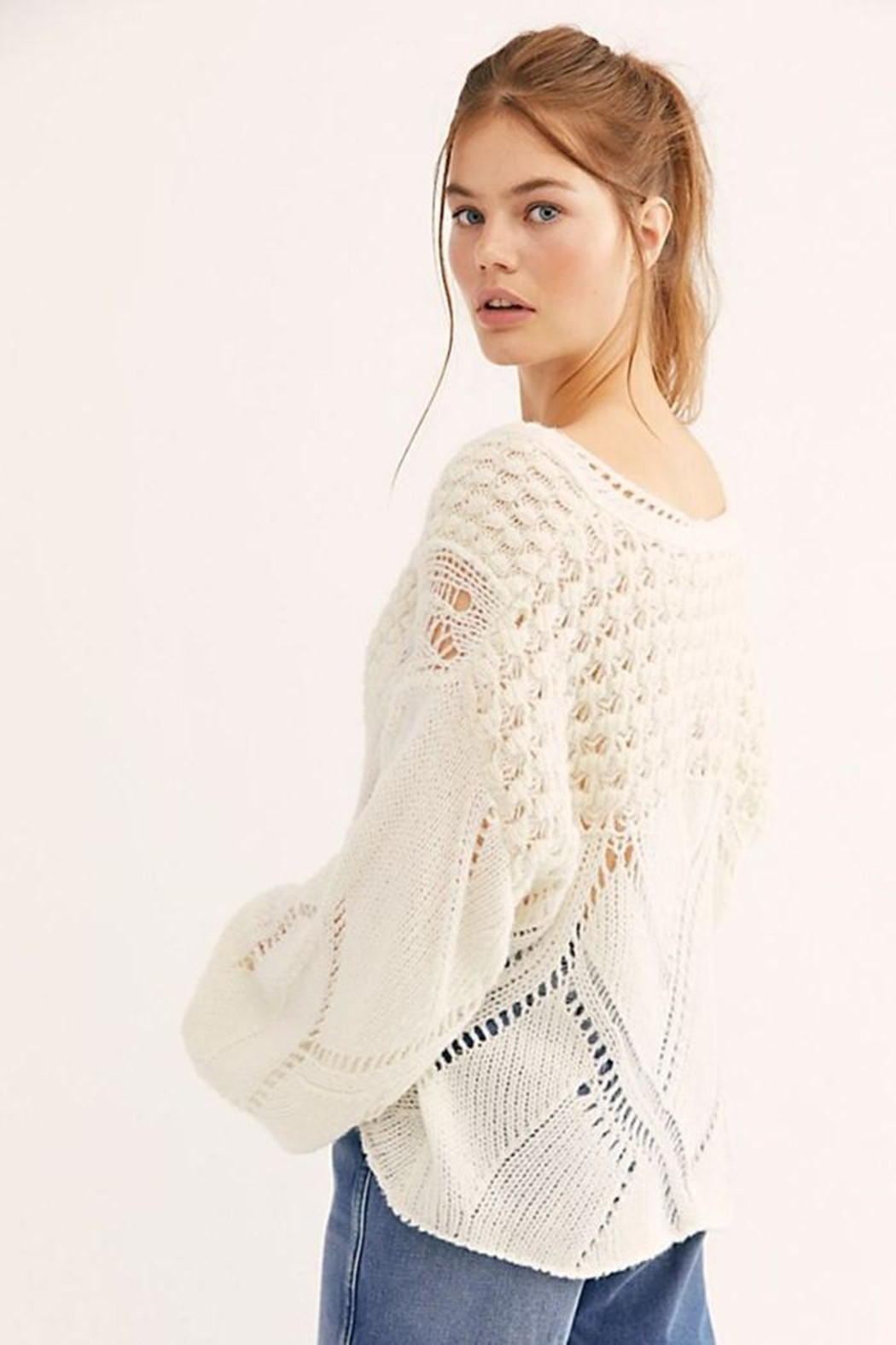 Free People Snowball Sweater - Front Full Image