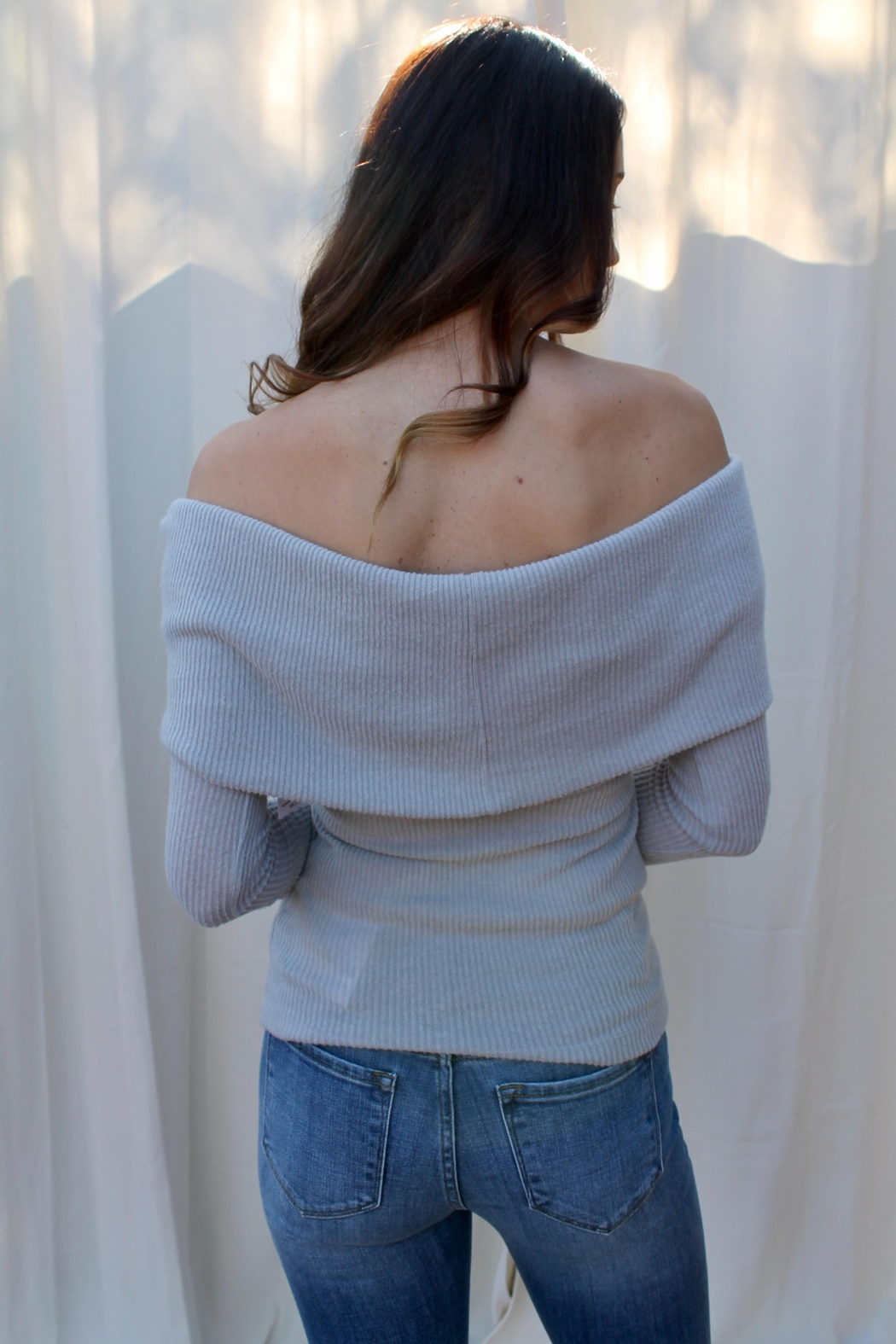 Free People Snowbunny Thermal Top - Side Cropped Image