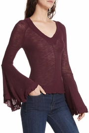 Free People Soo Dramatic Top - Back cropped
