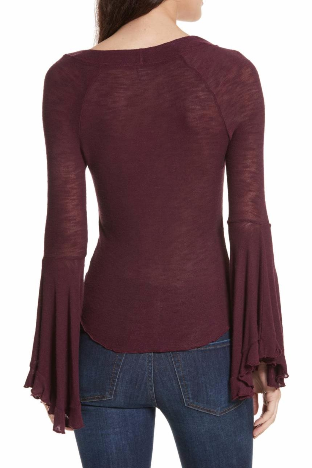 Free People Soo Dramatic Top - Side Cropped Image