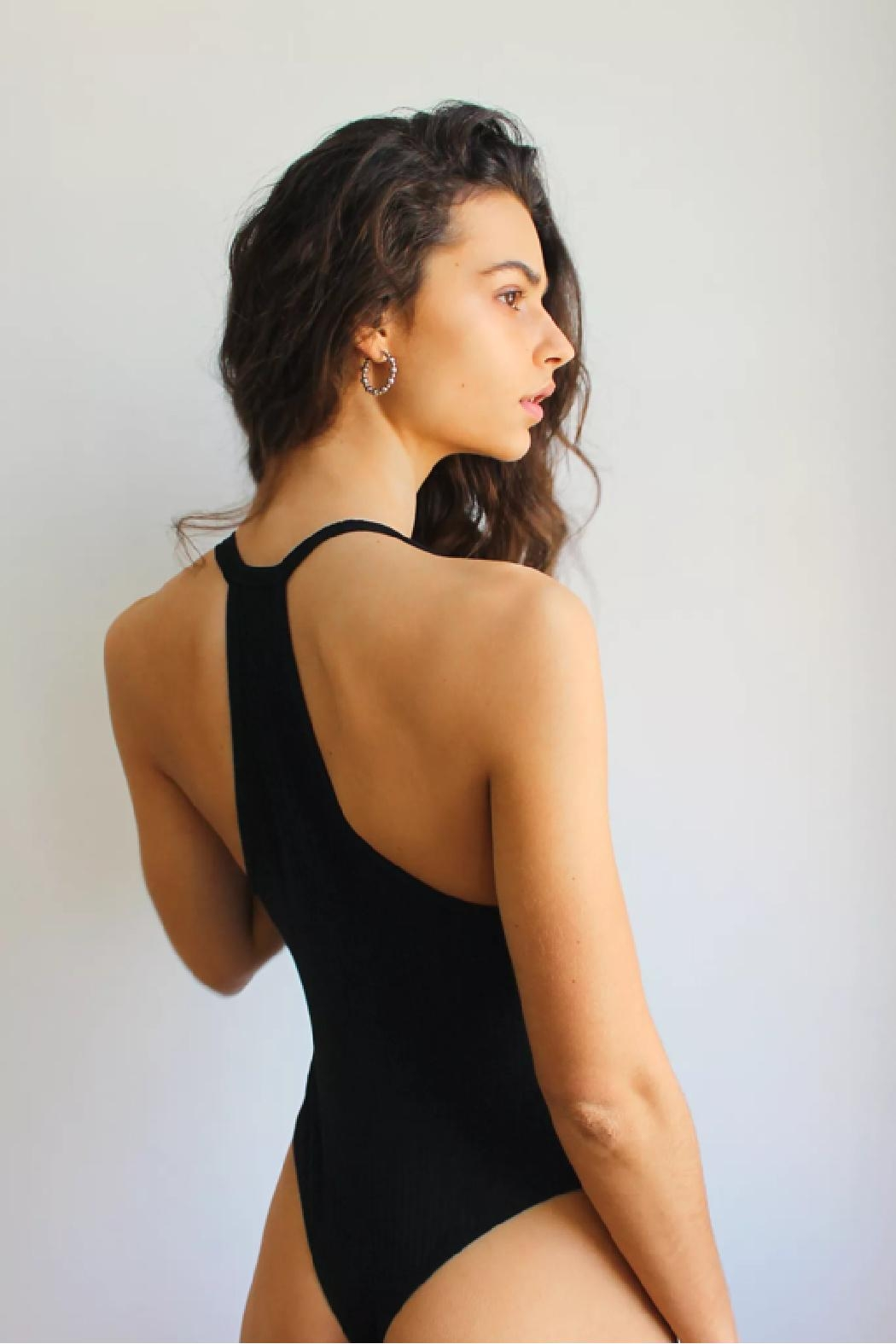 Free People Speed Dial Bodysuit - Front Full Image