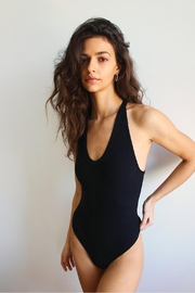 Free People Speed Dial Bodysuit - Front cropped
