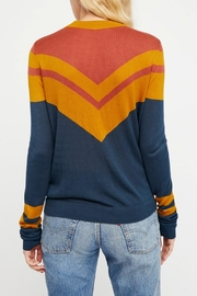 Free People Stripes Crew Sweater - Front full body
