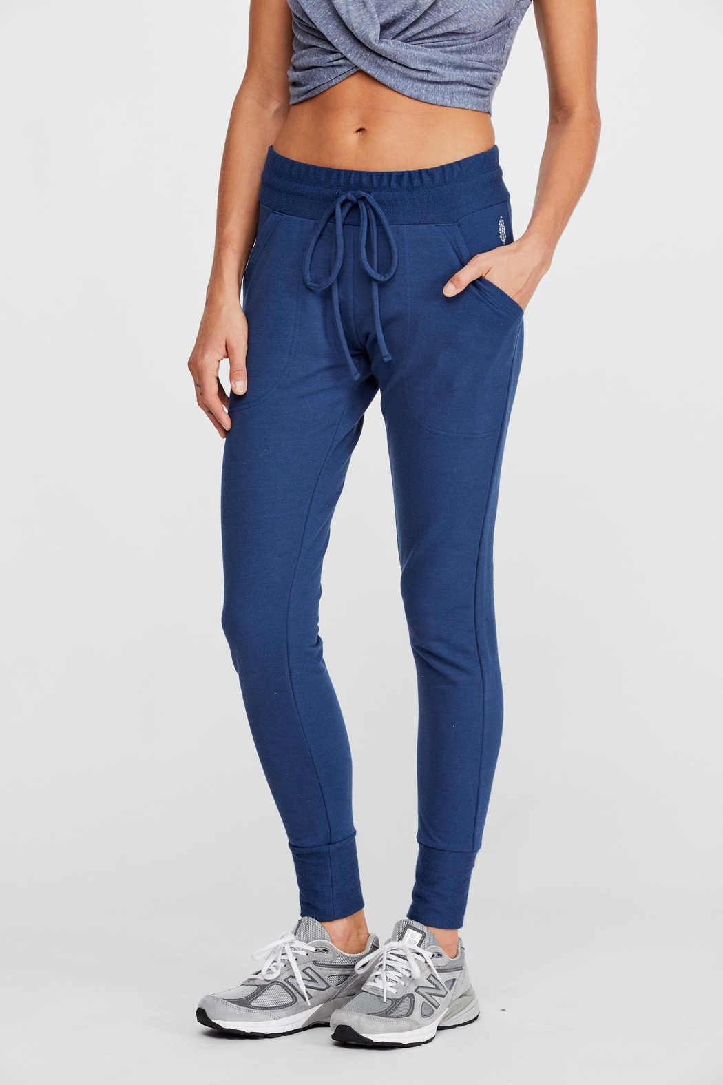 Free People Sunny Skinny Sweat - Side Cropped Image