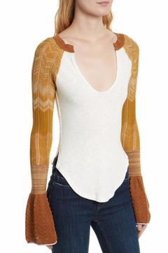 Free People Sunshine Thermal Top - Product List Image