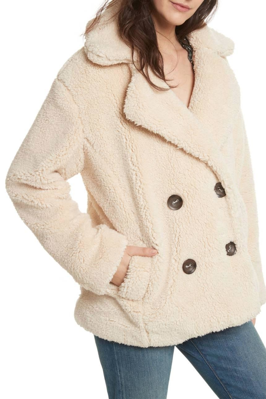 f57575f7f8fd Free People Teddy Peacoat from Hudson Valley by Bfree — Shoptiques