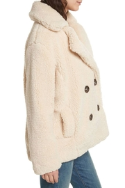 Free People Teddy Peacoat - Front full body