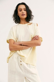 Free People The Lucky Tee - Front cropped