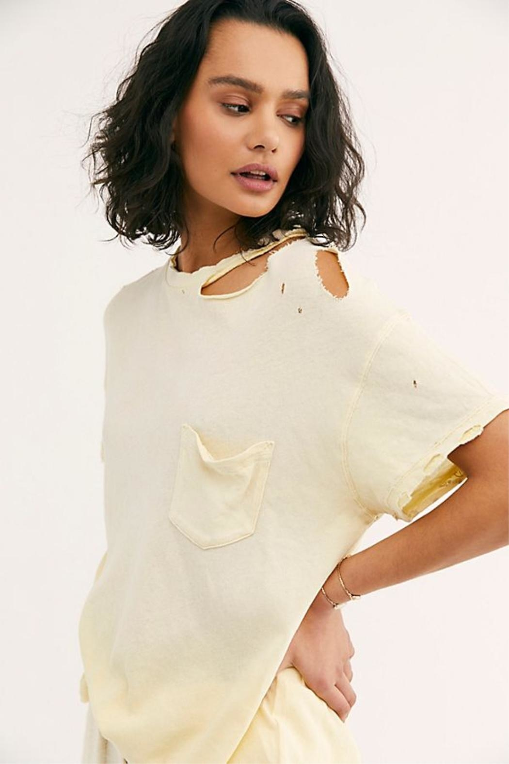 Free People The Lucky Tee - Side Cropped Image