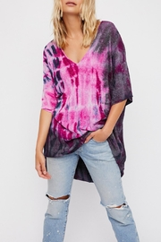 Free People Tie Dye Tunic Top - Product Mini Image
