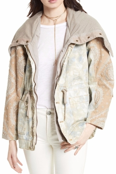 Shoptiques Product: Tie Dyed Jacket
