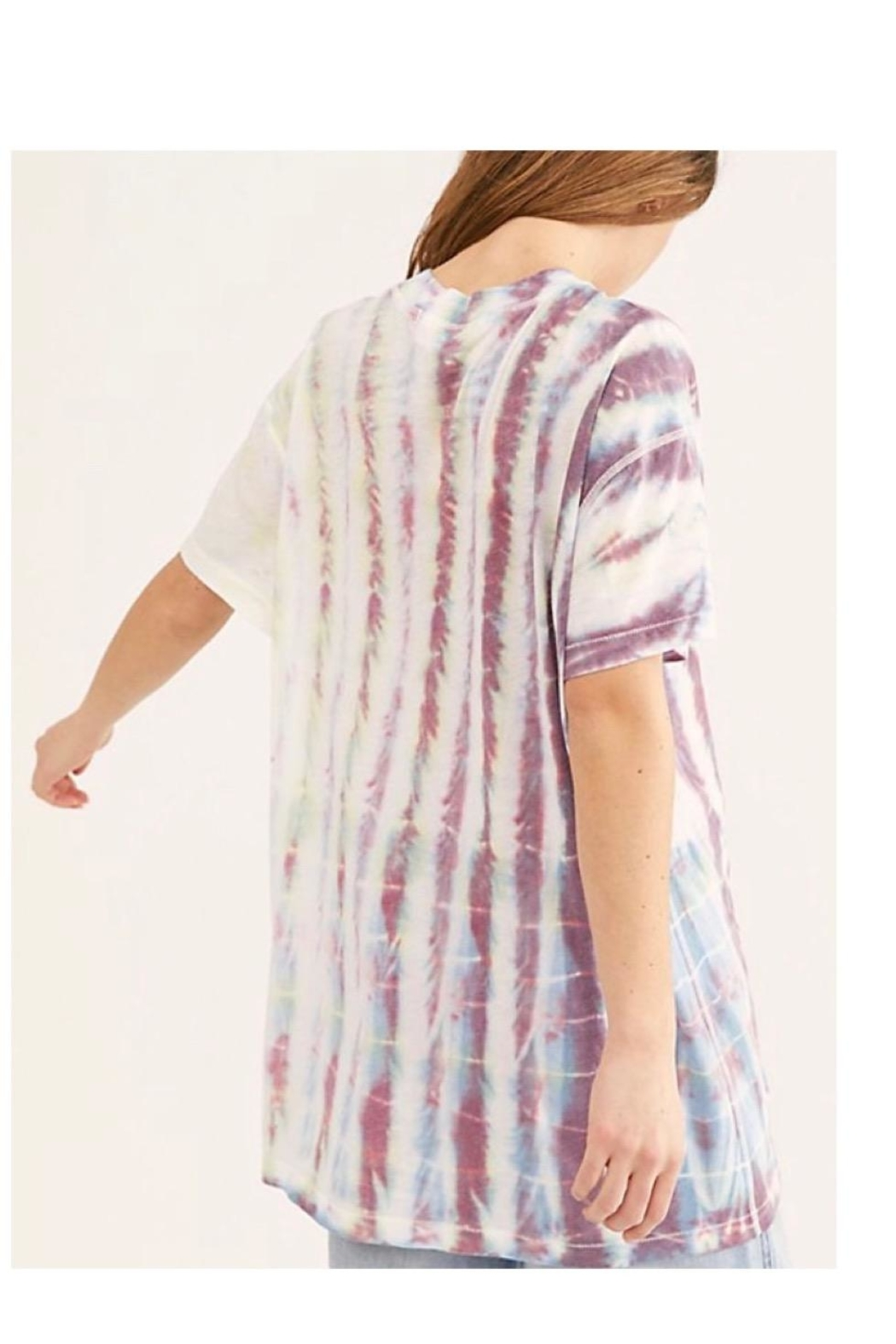 Free People Tiedye Top - Front Full Image