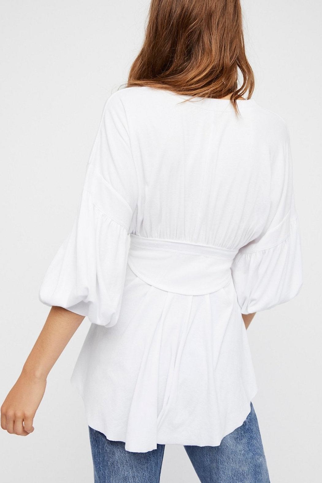 Free People Time Traveler Top - Front Full Image